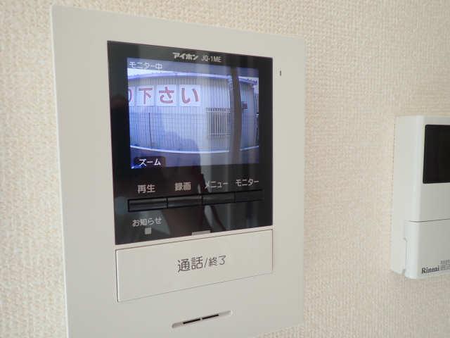 ブルースカイT 1階 モニター付きインターホン