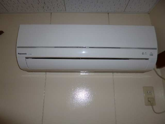 広栄荘7棟 2階 エアコン