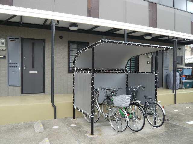 美邦ハイツパートⅥ 2階 自転車置場