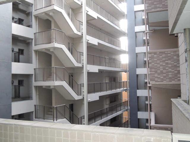 ハルモニア 6階 眺望