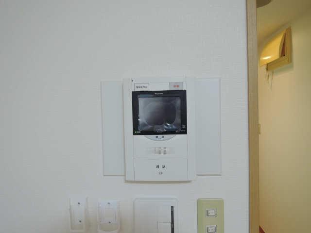 ハルモニア 10階 モニター付きインターホン