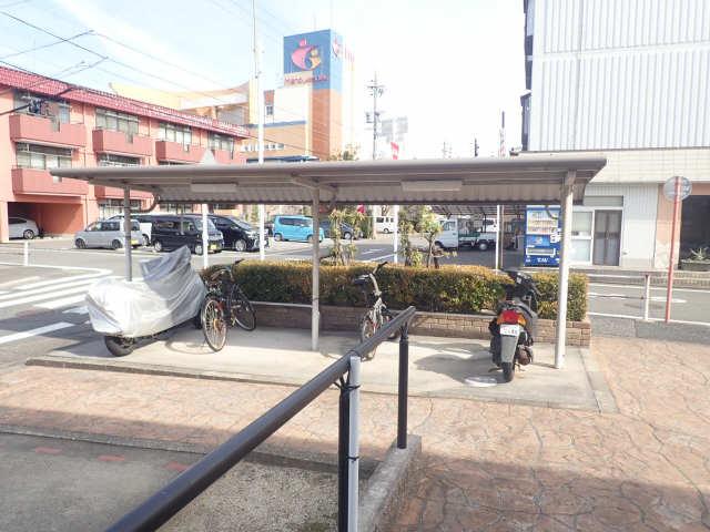 カフェオーレBAN Ⅰ 駐輪場