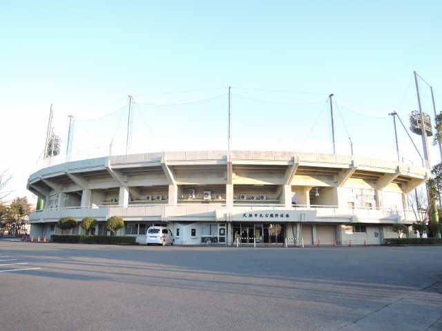 大垣市北公園野球場