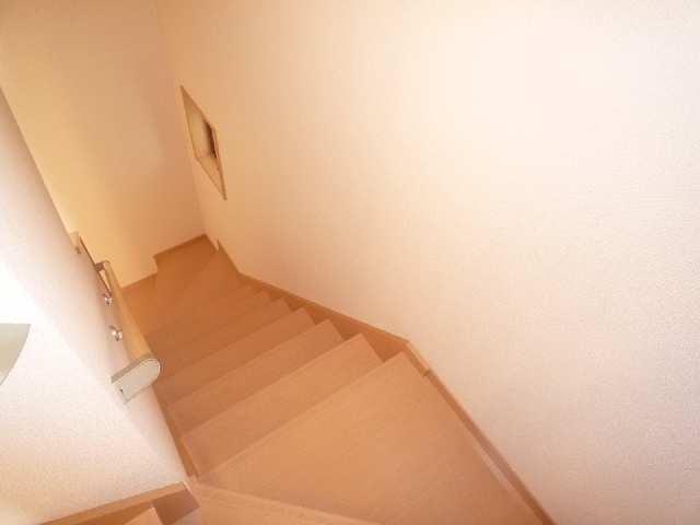 メゾンドラピュタⅢ 階段
