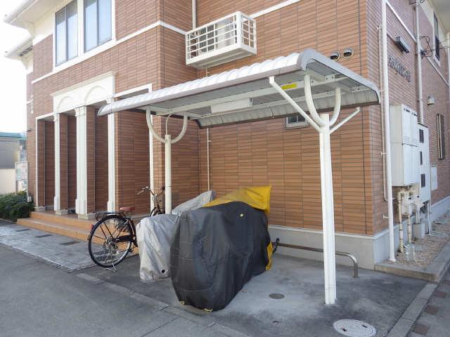 アンジェロF2 駐輪場