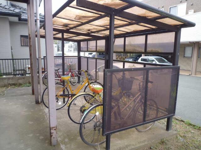 池田ハイツ 駐輪場