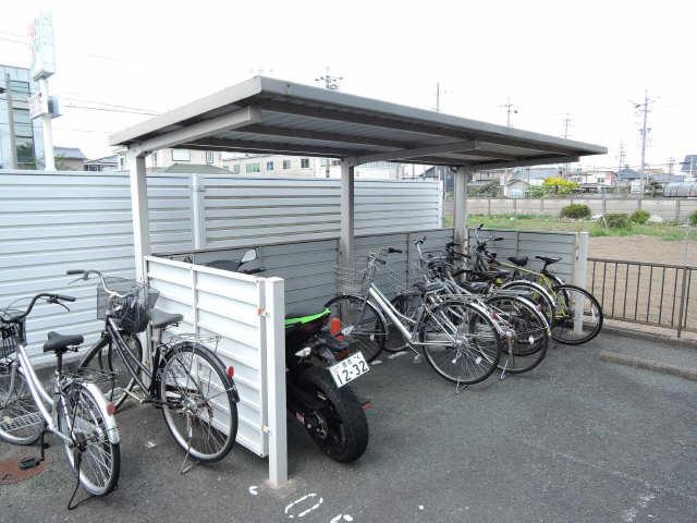 セジュール下野川 駐輪場