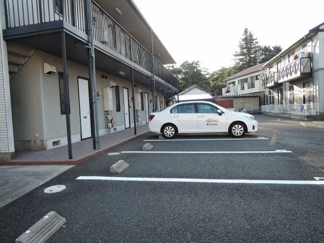 ウィステリア郷中B 駐車場