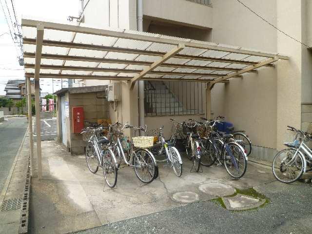 寿楽荘 第1荘 駐輪場