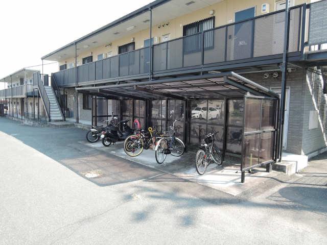 リバーフィールドSUMI A棟 駐輪場