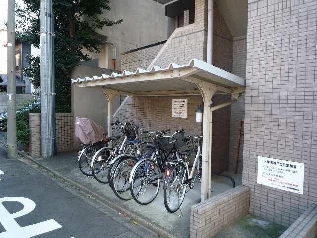 綾羽アネックス葵 自転車置場