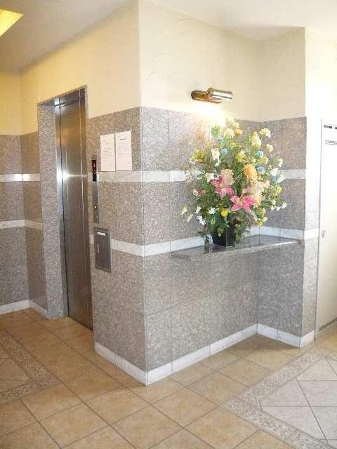 プロビデンス東片端 エレベーターホール