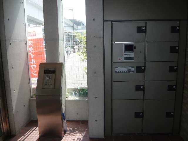 シャンクレール 8階 オートロック&宅配ボックス