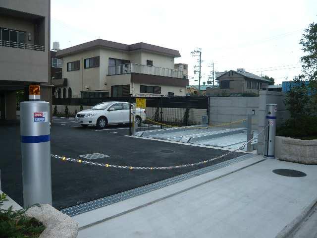 プライムメゾン矢田南 共通・チェーンゲート付駐車