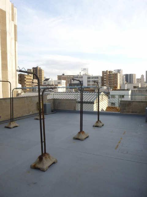 第二石田ビル 4階バルコニー