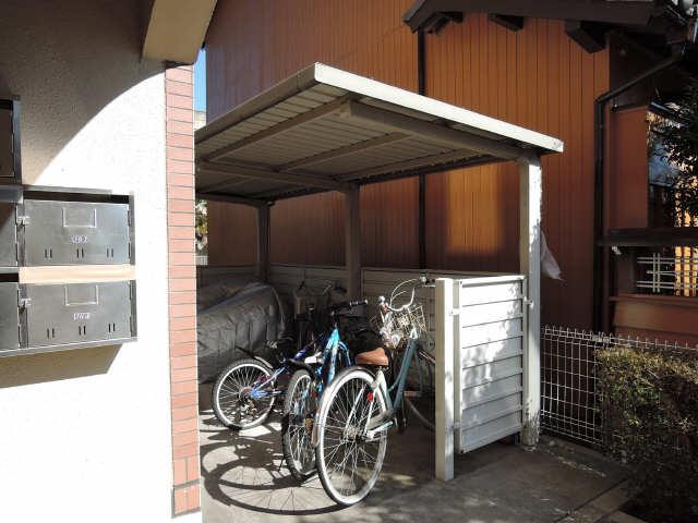 緑風マンション 駐輪場