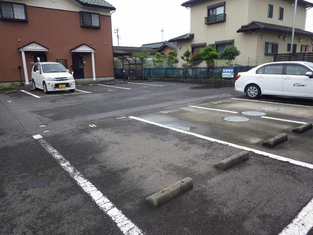 PureHeights外山B 駐車場