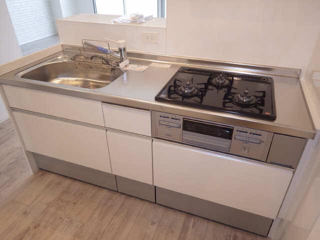 里水マンション A棟 4階 キッチン