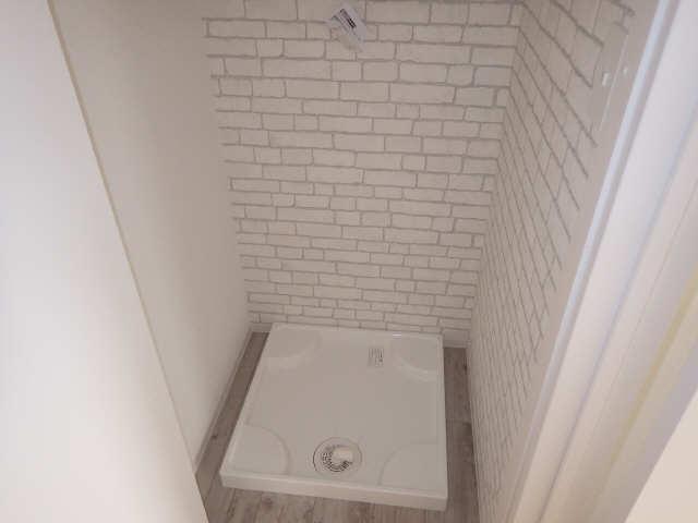 里水マンション A棟 4階 洗濯機置場