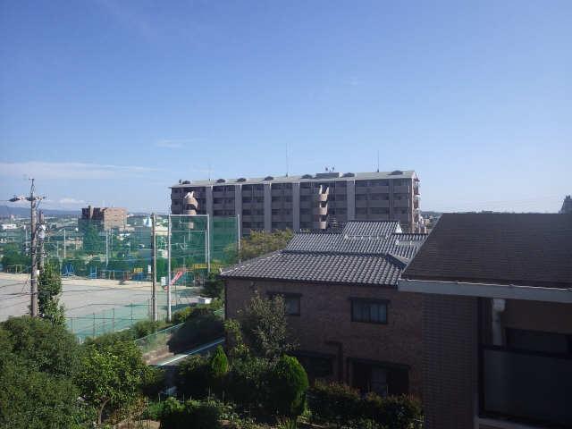 桜ヶ丘ハイツ 4階 眺望