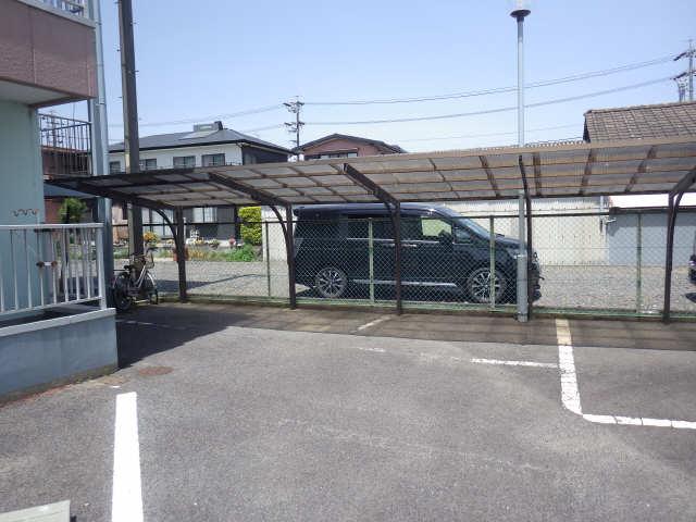 グリーンコーポ 2階 駐輪場