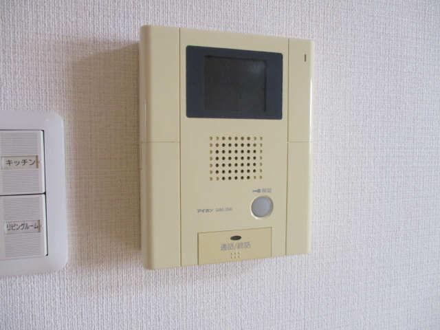 ヒルサイド竹の山 2階 モニター付インターホン