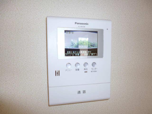 レジデンスXYZ 2階 モニター付インターホン