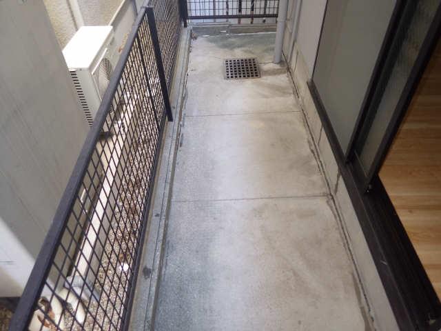 シンシア鏡池 1階 バルコニー