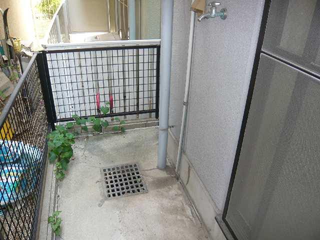 シンシア鏡池 1階 洗濯機置場