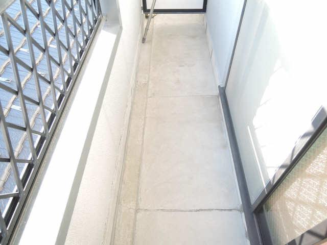 シンシア鏡池 3階 バルコニー