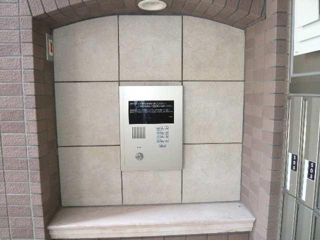 ヴェルドミール春里 4階 オートロックパネル