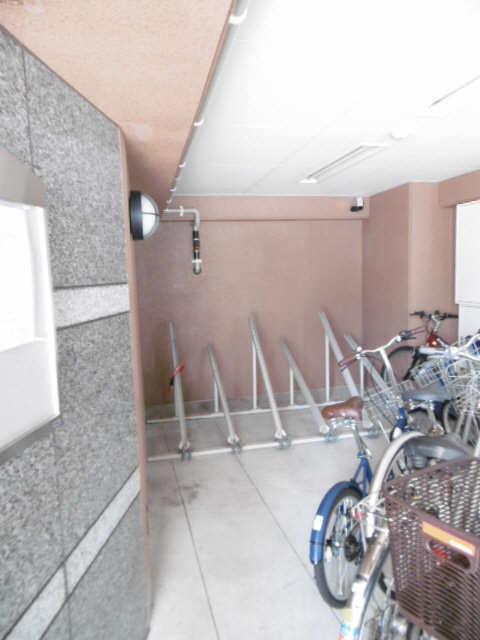 シティライフ田代 3階 駐輪場