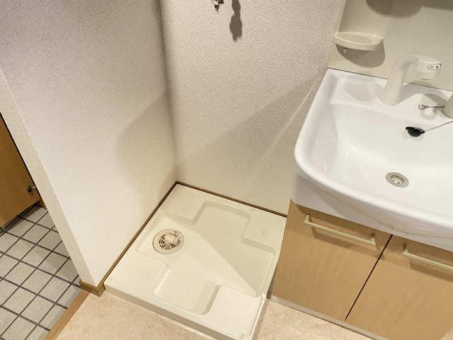 ラフィネ四ッ谷 3階 洗濯機置場