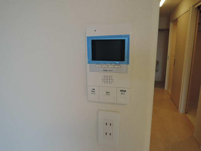 プリオール椿PartⅡ 1階 モニター付インターホン