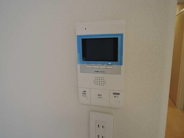 プリオール椿PartⅡ 2階 モニター付インターホン