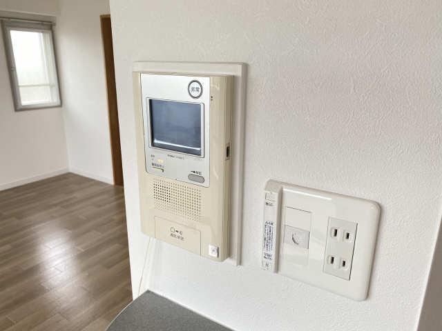 ウェルフォート幸川 10階 モニター付きインターホン