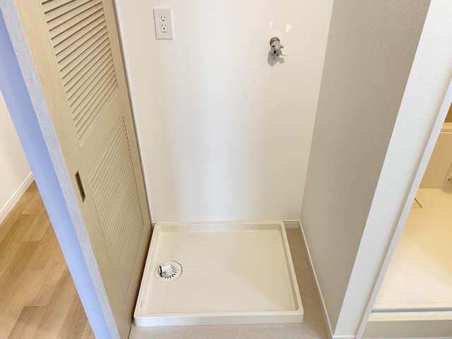 ウェルフォート幸川 10階 洗濯機置場