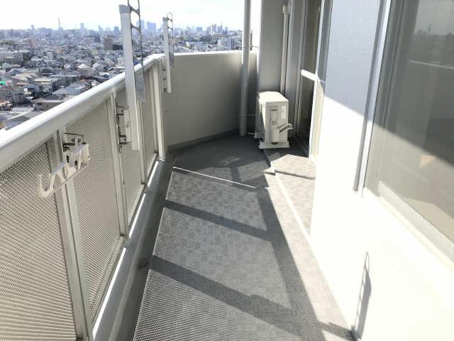 ウェルフォート幸川 13階 バルコニー