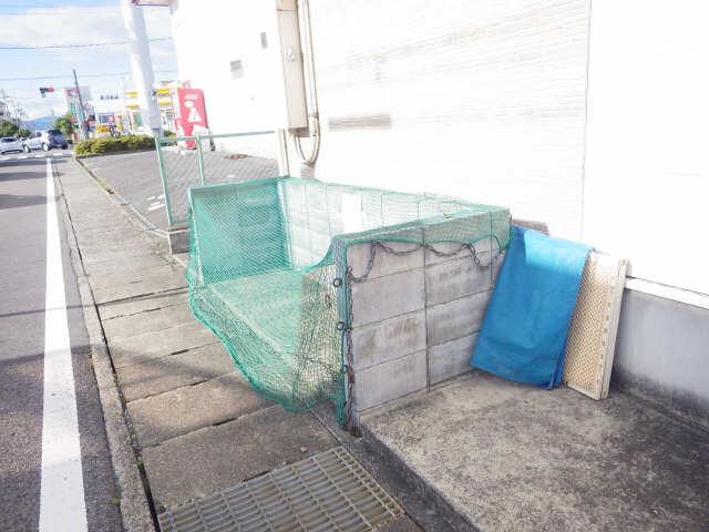 プラッサムコート熊野町 B棟 ゴミ捨場