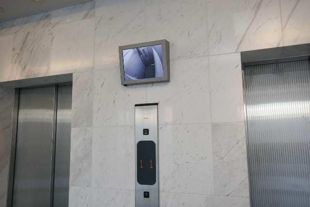 パークアクシス名駅南 6階 エレベーターモニター