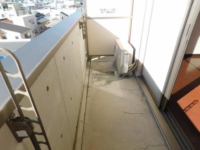 ラ・ミューズ1101 5階 バルコニー