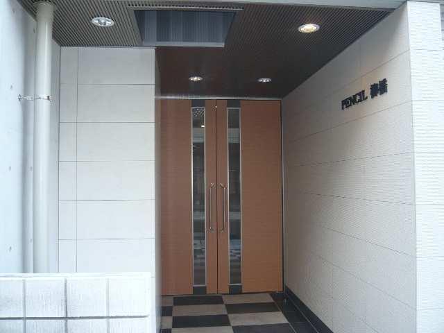 PENCIL柳橋 3階 建物入口