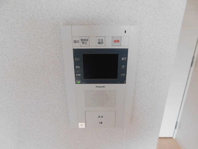 プレサンス名古屋STATIONビジュ 6階 モニター付きインターホン