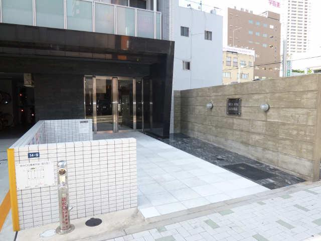 エルザビル名古屋駅前 11階 アプローチ