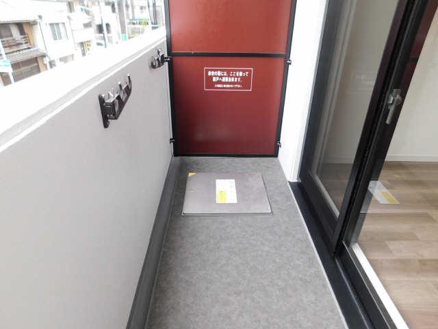S-RESIDENCE名駅 4階 バルコニー