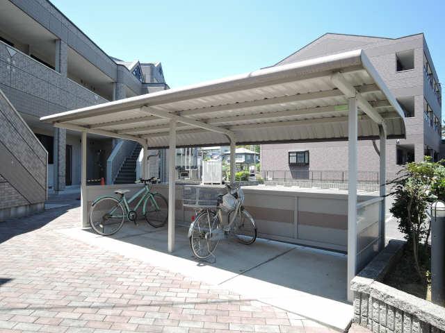 PRONITY HIRANOC 2階 駐輪場