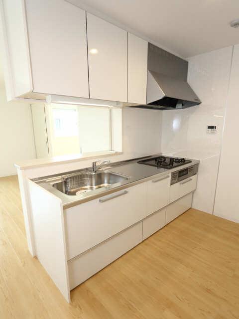202号室キッチン