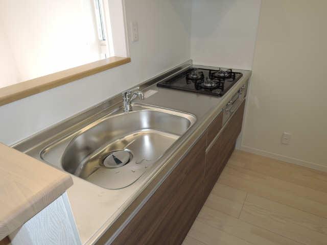 203号室キッチン2