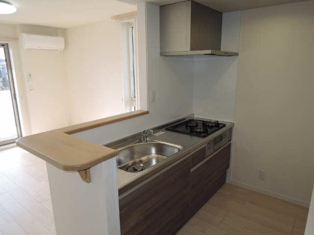 203号室キッチン