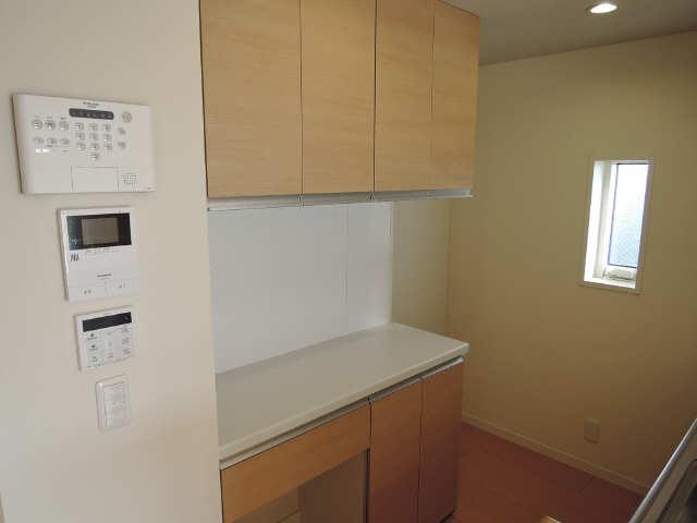 301号室キッチンボード